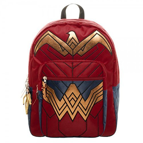 Dawn Of Justice Wonder Woman Backpack 18 X 19In By Poster Revolution
