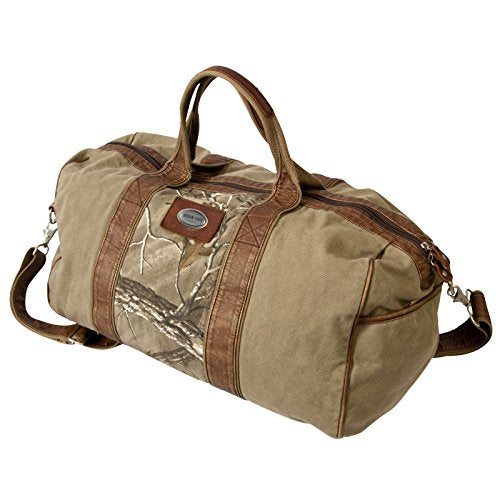 Canyon Outback Urban Edge Hudson Realtree Xtra 20-Inch Canvas Duffel Bag, Brown, One Size
