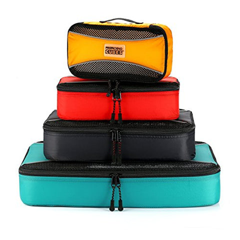 Pro Packing Cubes  Lightweight Travel - Packing For Carry-On Luggage, Suitcase And Backpacking