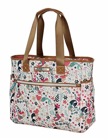 Lily Bloom Satchel (One Size, Sea Garden)