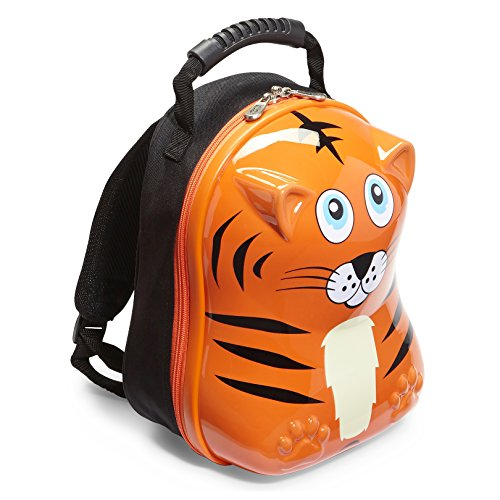 Travel Buddies Tinko Tiger Backpack, Orange