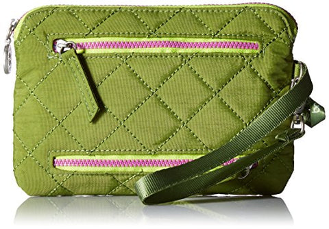 Baggallini Women's Rfid Currency & Passport Organizer green/kiwi One Size