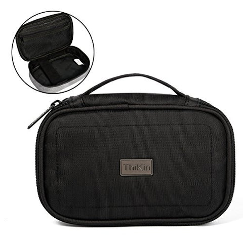 Freewander Small Travel Storage Organizer Case Bag for Charging Cable&Mouse Pack