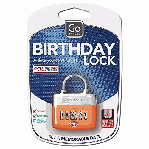 Design Go Birthday Lock (Assorted)