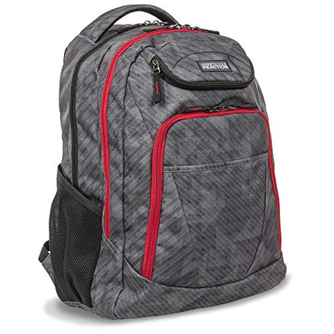 "Kenneth Cole Reaction 17"" Double Zipper Laptop Backpack"