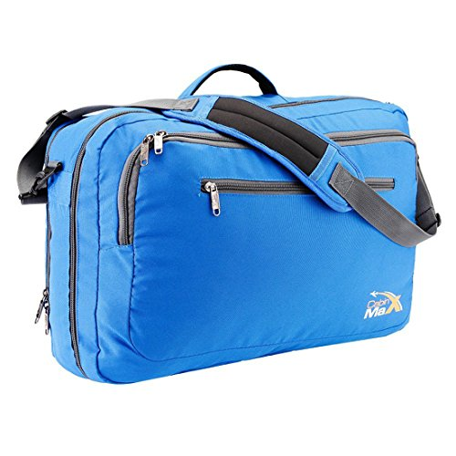 Cabin Max Frankfurt Messenger and Laptop Carry On Bag-20x13x8inches
