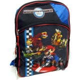 Fast Forward Little Boys' Mario Backpack 2, Blue/Black, One Size