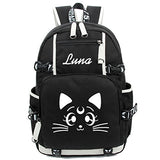 Gumstyle Sailor Moon Luminous Backpack Anime Book Bag Casual School Bag