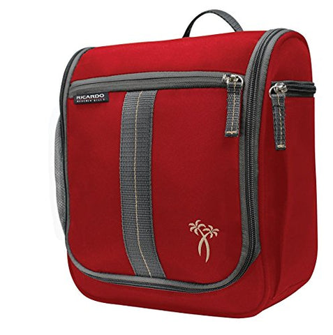 Ricardo Beverly Hills Essentials Travel Organizer, Ribbon Red