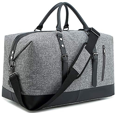 BLUBOON Weekender Overnight Bag Lightweight Travel Duffle Bag for Men Womens Carry On Tote Bags