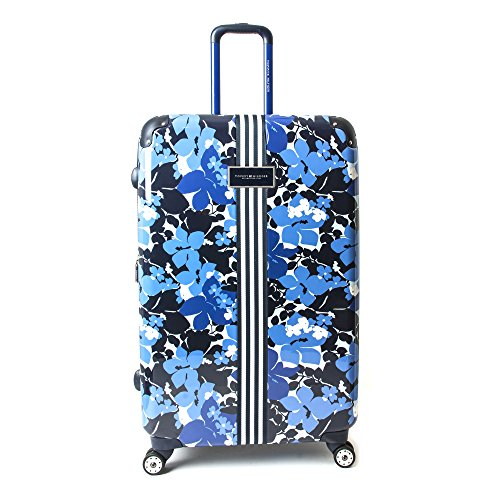 "Tommy Hilfiger Floral Hardside 28"" Spinner,Luggage, Blue Floral"