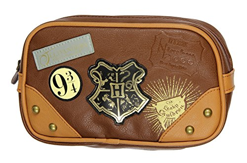 Bioworld Harry Potter Hogwarts Diagon Alley Toiletry Cosmetic Makeup Bag