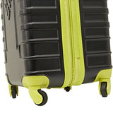 "Columbia 30"" Hardside Expandable Spinner Luggage, Black"
