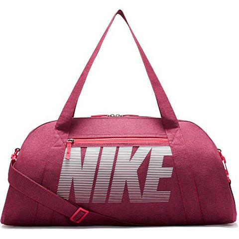 Nike Gym Club Training Duffel Bag,Rush Pink/Rush Pink/White,One Size