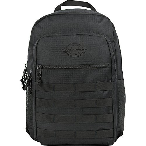Dickies Campbell Backpack, Black Ripstop, One Size