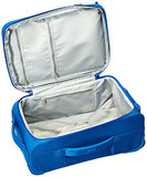 "Delsey Luggage Chatillon 21"" Carry-on Exp. 2 Wheel Trolley, Blue"
