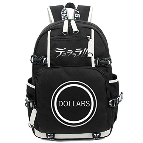 Gumstyle Drrr Durarara Luminous Backpack Anime Book Bag Casual School Bag