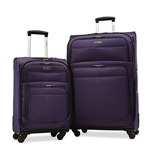 "Samsonite Upspin Lightweight Softside Set (21""/29""), Only At Amazon, Space Blue"