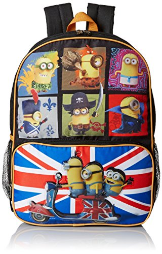 Despicable Me Boys' Despicable Me Movie Backpack Through Time, Multi, One Size
