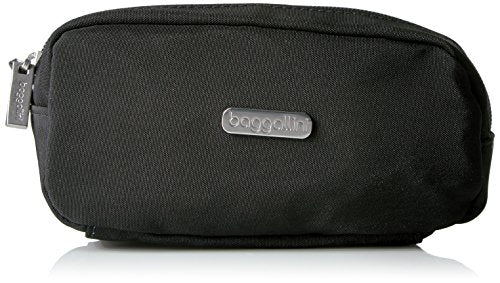 Baggallini Square Cosmetic case, Black/Charcoal