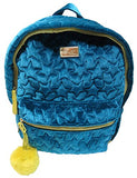 "Betsey Johnson Women'S Luv Betsey Backpack, Size 13""X10""X5.5"", Color Teal"