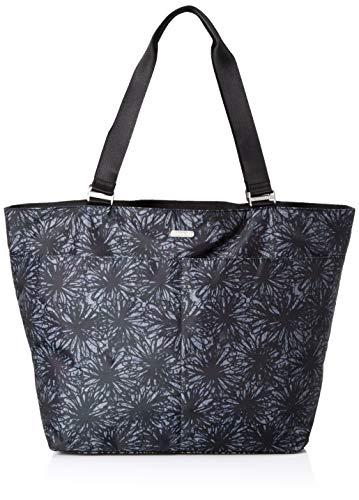 Baggallini Womens Carryall Tote, Onyx Floral