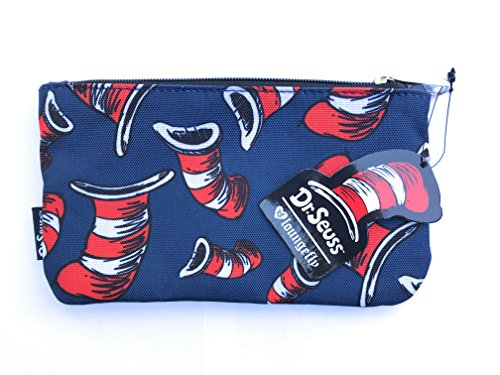 Loungefly Dr Seuss Pencil Case (Cat in the Hat Navy and Red)