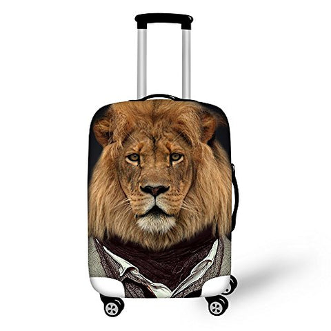 Freewander Luggage Covers Personalized Travel Suitcase Protective Elastic Skin (Medium(22''-26'')