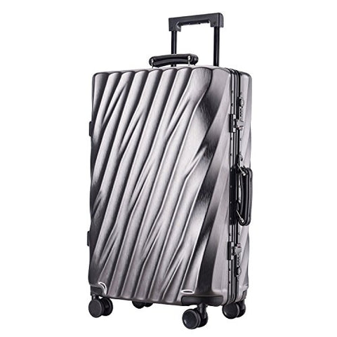 Unitravel Hardside Spinner Luggage Travel Abs Suitcase Spinner Trolley Carry On