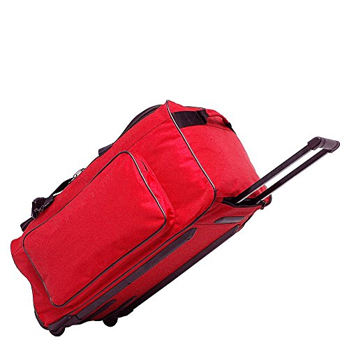 "Netpack ""Big P"" 25"" Wheeled Duffel (Red)"