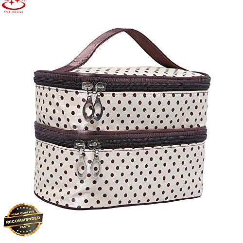 Gatton Multifunction Travel Cosmetic Bag Makeup Case Pouch Storage Toiletry Organizer | Style