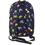 "Space Jam Backpack Tune Squad 17"" Large Luggage Strap Basketball Backpack"