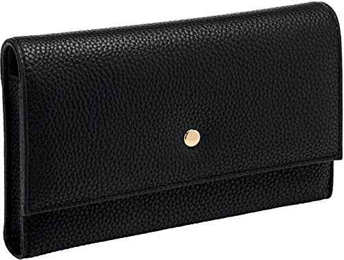 Buxton Pebble Pill Organizer, black
