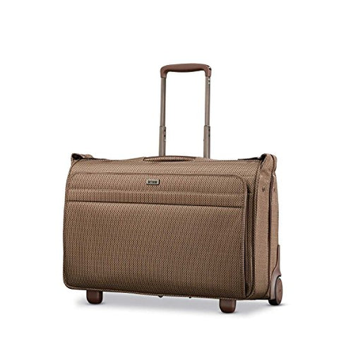 Hartmann Century Carry On Wheeled Garment Bag Carry-On Luggage, Mocha Monogram