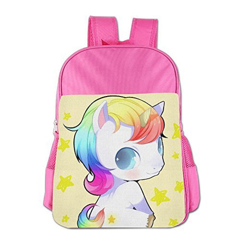 Gibberkids Children Unicorn Baby Rainbow Cartoon Cute School Bag Bookbag Boys/Girls For 4-15