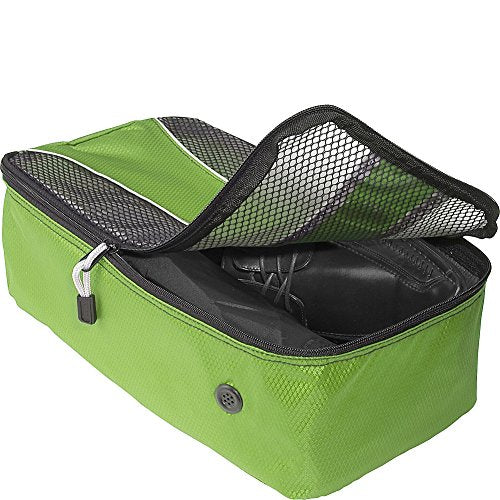 eBags Shoe Bag - Travel Packing Cube for Shoes - (Grasshopper)
