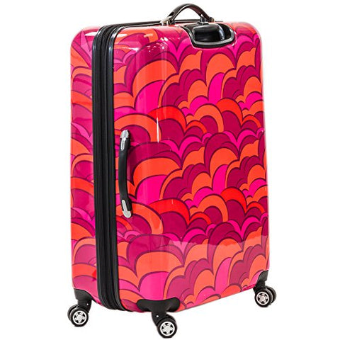 Ful Sunset 28 Inch Spinner Rolling Luggage Suitcase Suitcase, Orange