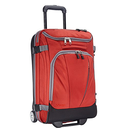 "eBags TLS Mother Lode Mini 21"" Wheeled Duffel Bag Luggage - Carry-On - (Sinful Red)"
