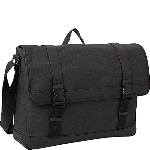 "Kenneth Cole Reaction Urban Artisan Flapover 15"" Laptop Messenger Bag (Charcoal)"
