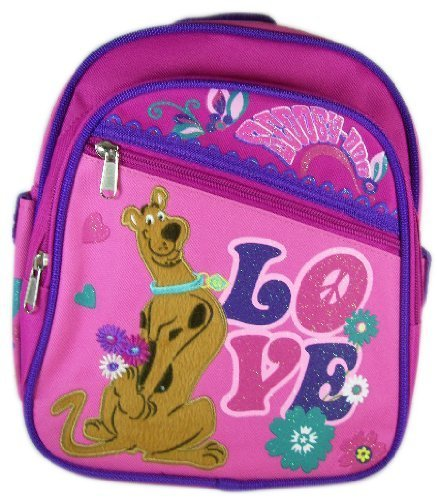 "Scooby Doo ""Peace & Love"" 10"" Mini Backpack (Daypack)"
