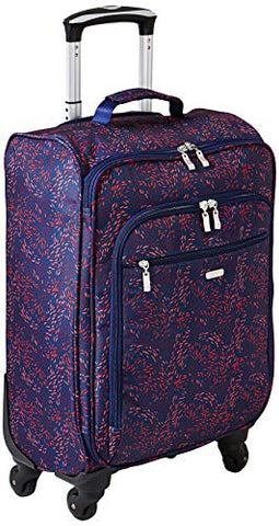 Baggallini 4 Wheel Carry-on, Firework Print