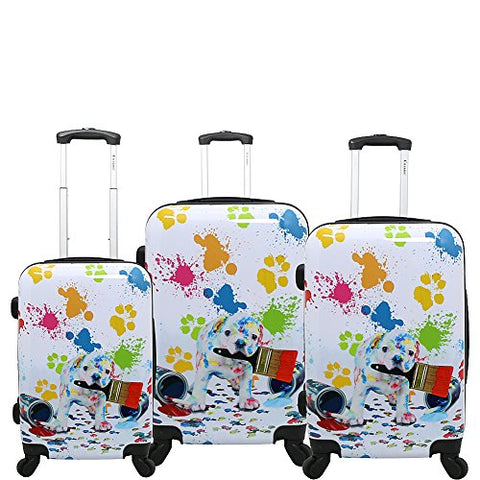Chariot Paint 3-Piece Luggage Set