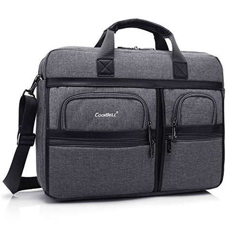 CoolBELL 17.3 Inch Laptop Messenger Bag/Durable Business Briefcase/Nylon Shoulder