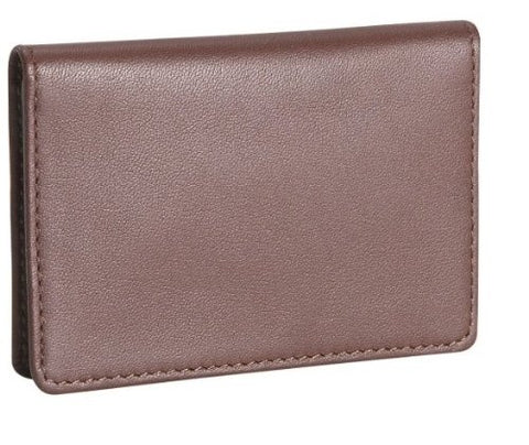 Royce Leather Men'S Business Card Case (One Size, Coco)