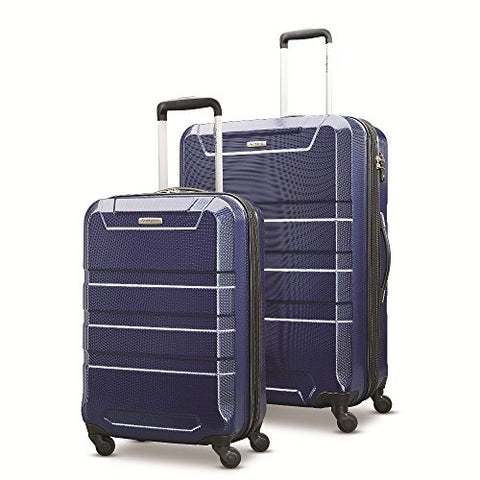 "Samsonite Invoke 2 Piece Nested Hardside Set (20""/28""), Navy Blue, Only At Amazon"