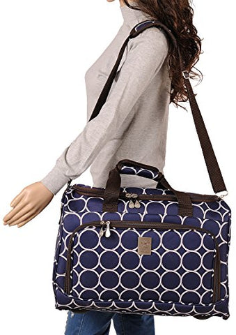 Jenni Chan Aria Park Ave City Duffel, Navy, One Size