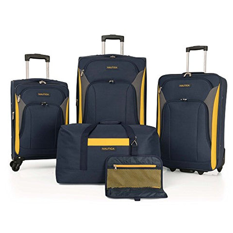 Nautica 5 Piece Luggage Set