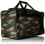 World Traveler Camouflage 22-inch Travel Duffle Bag, Green Camo
