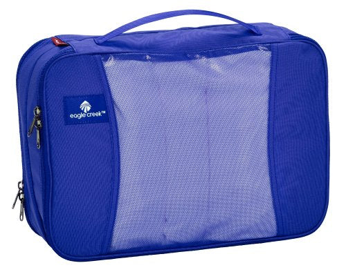 Eagle Creek Travel Gear Luggage Pack-it Clean Dirty Cube, Blue Sea