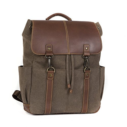 Boconi Bryant Lte Rucksack (Heather Brown With Houndstooth)